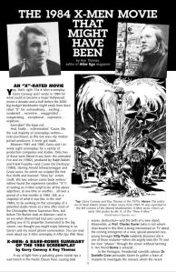 1984 X-Men Film