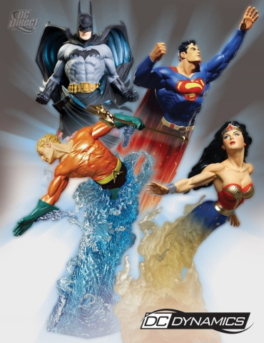 dc-dynamics-statues-group