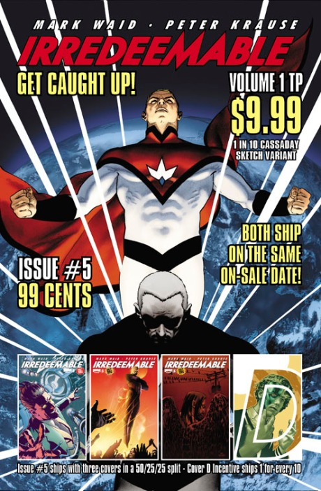 Irredeemable TPB Ad