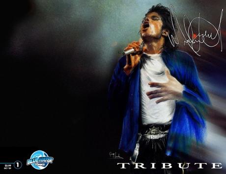 Michael Jackson Comic A
