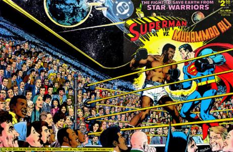 Supes vs Ali Cover