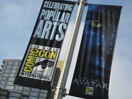 Comic-Con/Avatar Banner