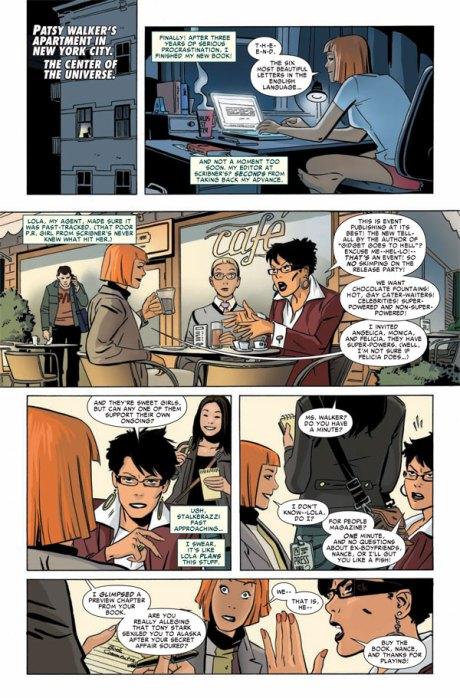 Marvel Divas #1 p1