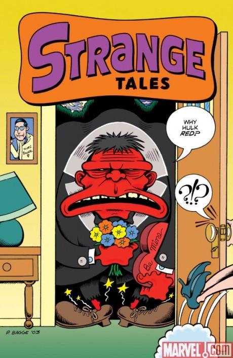 Strange Tales #2 Red HulkCover