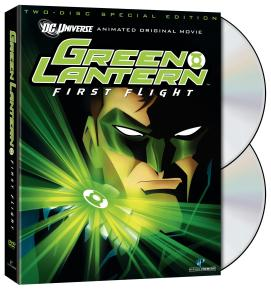 Green Lantern: First Flight DVD