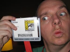 Kris at Comic-Con 2009
