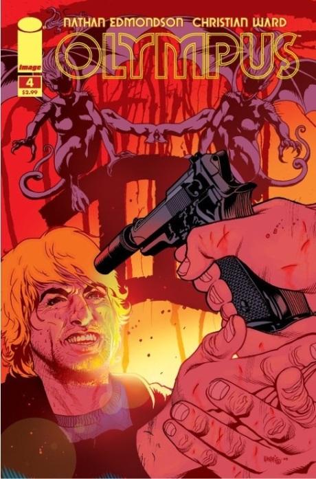 Olympus #4 Tony Harris Variant Cover