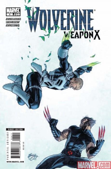 Wolverine Weapon X #4
