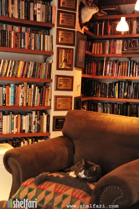 Neil Gaiman's Library 1
