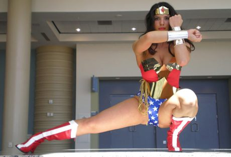 Margie Cox as Wonder Woman