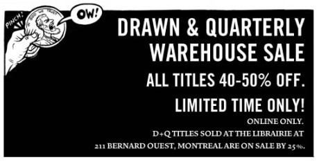 Drawn and Quarterly Web Sale