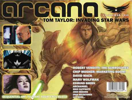 ARCANA #1 Draft Cover