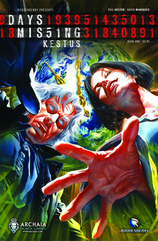 days missing kestus 001 Days Missing Graphic Novel in Development for Film and TV