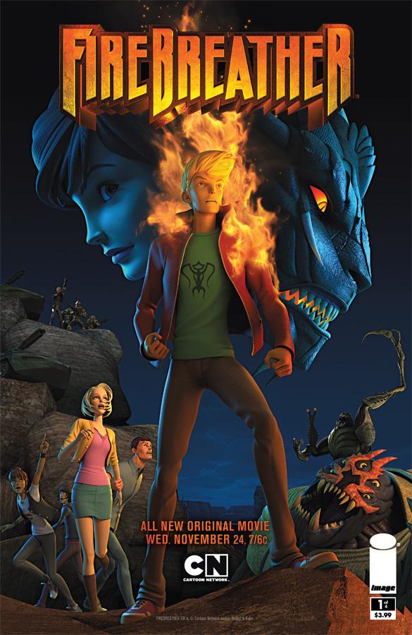 Firebreather affiche