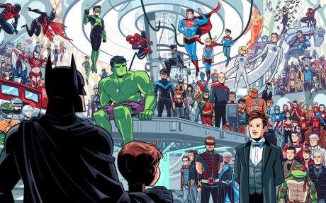 Dean Trippe Sci-fi Heroes