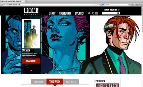 BOOM! Studios New Site