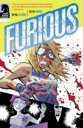 Furious #1 Cover
