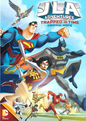 JLA Trapped In Time