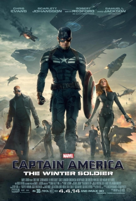 Captain America 2 poster
