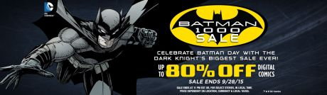 Batman 1000 Sale